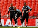 Soccer - UEFA Euro 2012 - Qualifying - Group G - England v Wales - England Training Session - Wembley Stadium
