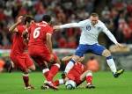 Soccer - UEFA Euro 2012 - Qualifying - Group G - England v Wales - Wembley Stadium