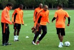Soccer - UEFA Champions League - Group E - Chelsea v Bayer Leverkusen - Chelsea Training Session - Cobham Training Ground