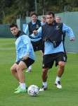 Soccer - UEFA Champions League - Group A - Manchester City v Napoli - Manchester City Training - Carrrington