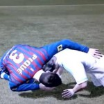 Gerard Pique Is A Little Too 'Clingy' In FIFA 12 (Video)
