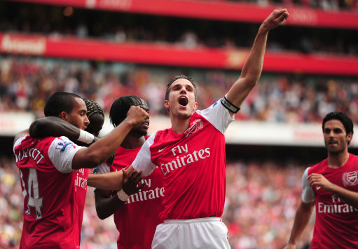 Soccer - Barclays Premier League - Arsenal v Bolton Wanderers - Emirates Stadium