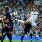 Raphael Varane Scores First Real Madrid Goal With Improvised Back-Heel Volley, Breaks Club Record (Video)