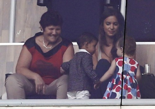 Cristiano Ronaldo's Family at La Liga Match