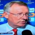 Sir Alex Gets Stroppy With Dalglish's Daughter In Post-Benfica Interview (Video)