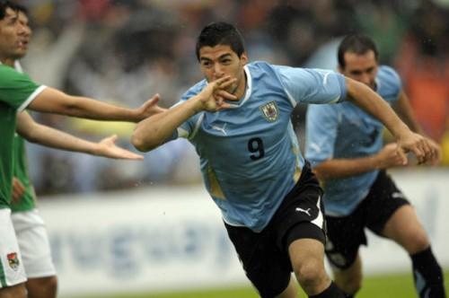 Uruguay Bolivia WCup Soccer