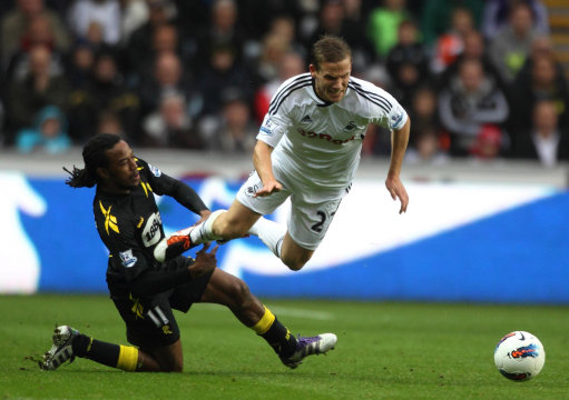 Soccer - Barclays Premier League - Swansea City v Bolton Wanderers - Liberty Stadium