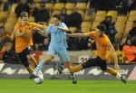 Soccer - Carling Cup - Fourth Round - Wolverhampton Wanderers v Manchester City - Molineux