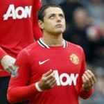Everton 0-1 Manchester United: Chicharito The Difference As Red Devils Bounce Back (Photos)