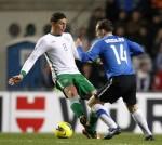 Soccer - UEFA Euro 2012 - Play-off - First Leg - Estonia v Ireland - Le Coq Arena