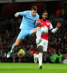 Soccer - Carling Cup - Quarter Final - Arsenal v Manchester City - The Emirates