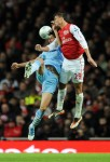 Soccer - Carling Cup - Quarter Final - Arsenal v Manchester City - Emirates Stadium