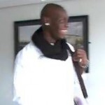 Mario Balotelli Lurks Behind Door, Yells 'Boo!' In Woman's Face (Video)