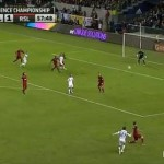 Trademark David Beckham Cross Assists LA Galaxy Into MLS Cup Final (Video)