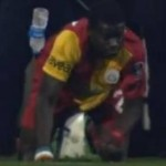 Emmanuel Eboue Mercilessly Pelted By Besiktas Fans, Takes It With Great Dignity (Video)