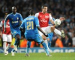 Soccer - UEFA Champions League - Group F - Arsenal v Marseille - Emirates Stadium