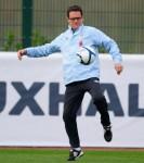 Soccer - International Friendly - England v Spain - England Training Session - London Colney