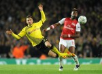 Soccer - UEFA Champions League - Group F - Arsenal v Borussia Dortmund - Emirates Stadium
