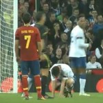 Scott Parker Blocks David Villa&#8217;s Free-Kick With His Face (Video)