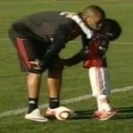 Football Sprogs: Robinho Junior Shows Up His Old Man With Some Dazzling Skills At Milan Training (Video)