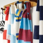 Competition: WIN! Beautiful Savile Rogue Cashmere Football Scarf In Your Club Colours!