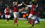 Soccer - Barclays Premier League - Wigan Athletic v Arsenal - DW Stadium