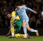 Soccer - Barclays Premier League - Manchester City v Norwich City - Etihad Stadium