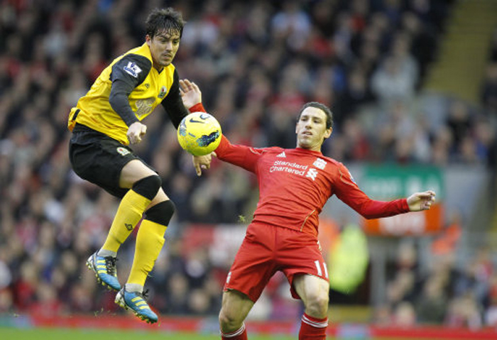 ... - Barclays Premier League - Liverpool v Blackburn Rovers - Anfield