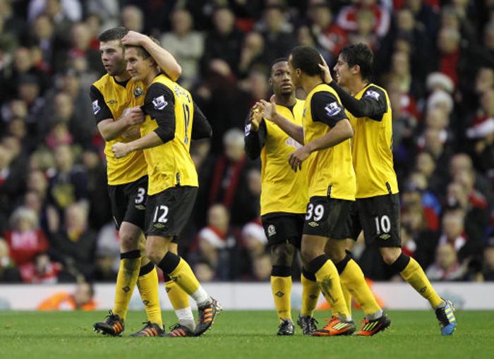 ... - Barclays Premier League - Liverpool v Blackburn Rovers - Anfield