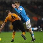 Football GIF: Seb Larsson/Cheaty McCheaterson's Ridiculous Penalty-Conning Swan Dive vs Wolves