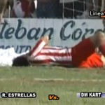 Goalkeeper Bites The Face Of Opponent In Argentinian Cup Game (Video)