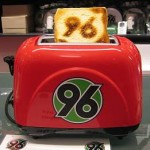 Pies' Christmas Gift Ideas – No. 2: The Hannover 96 Toaster