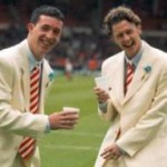 The Cream/Off-White Years: Liverpool Turn Up For FA Cup Final In THOSE Armani Suits, 1996 (Photos)