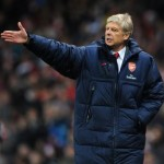 Football GIF: Arsene Wenger Struggles To Find His Coat Pocket As Gunners Struggle To Find The Back Of The Net