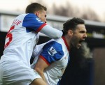 Soccer - Barclays Premier League - Blackburn Rovers v Fulham - Ewood Park