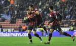 Soccer - Barclays Premier League - Wigan Athletic v Manchester City - DW Stadium