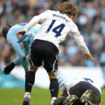 Football GIF: Mario Balotelli Stamps On Scott Parker's Face