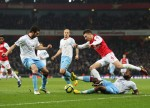 Soccer - FA Cup - Fourth Round - Arsenal v Aston Villa - Emirates Stadium