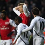 Swansea 3-2 Arsenal: Wenger Left Blaming All And Sundry As Swans Sashay Into Top-Half (Photos & Highlights)
