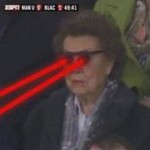 Football GIF: 'Target Acquired' – Luis Suarez Zapped By Old Lady Terminator