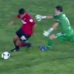 Real Sociedad Keeper Enaut Zubikarai Gets 'Dion Dublined' vs Mallorca (Video)