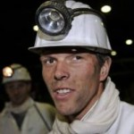 Hey Look! It's Klaas-Jan Huntelaar In A Miner's Helmet!