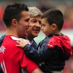 Arsenal Look To Robin Van Persie's Five-Year Old Son To Strengthen Fragile Squad