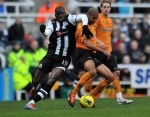 Soccer - Barclays Premier League - Newcastle United v Wolverhampton Wanderers - Sports Direct Arena