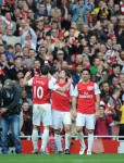 Soccer - Barclays Premier League - Arsenal v Tottenham Hotspur - Emirates Stadium