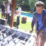 David Beckham Scores Outrageous…ly Computer-Assisted Table Football Trickshot (Video)