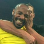 Caption This: Zlatan Ibrahimovic Whispers Sweet Nothings In Thierry Henry's Ear (GIF)