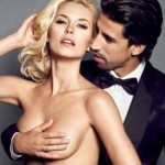 WAG Watch: Sami Khedira Provides Suave 'Hand Bra' For Topless WAG Lena Gercke (NSFW-ish Photo)