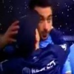 Napoli Mascot Kisses Ezequiel Lavezzi And Walter Gargano For Luck (Video)