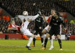 Soccer - UEFA Europa League - Round of 32 - First Leg - Stoke City v Valencia - Britannia Stadium